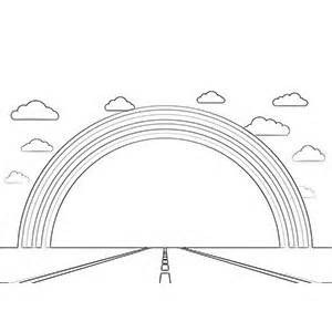 rainbow road coloring page free printable rainbow coloring pages for kids