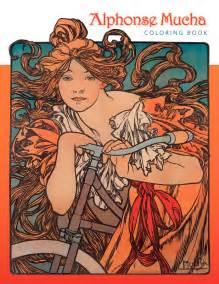 Alphonse Mucha Coloring Book Coloring Book