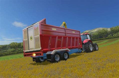 Marshalls Ls by Marshall Qm16 Silage Trailer V1 0 Ls 2015 Farming