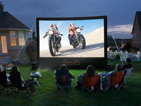 backyard movie theater systems cinebox home backyard theater system hiconsumption