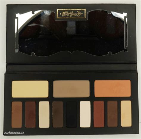 kvd shade and light eye kvd shade light eye contour palette review kirei makeup