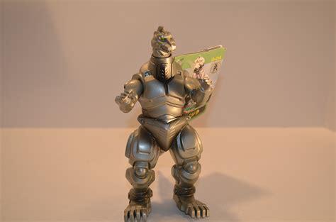 Godzilla Bandai 1998 Figure Kaiju toho kaiju mecha godzilla 1993 figure green tag bandai