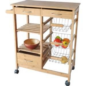 bamboo wood kitchen cart walmart com hometrends kitchen island cart walmart ca
