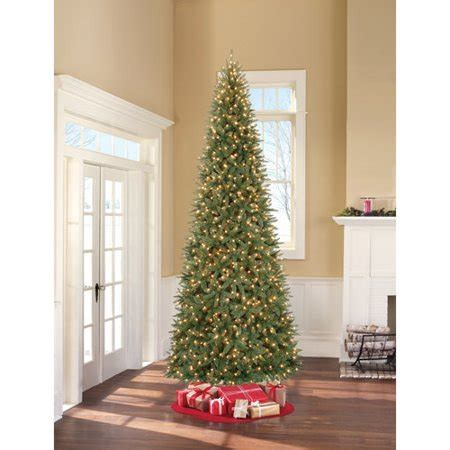 4 12 ft xmas tree at walmart better homes gardens 12ft williams pe pvc clr walmart
