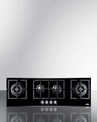 glass cooktop cast iron 4 burner island gas on glass cooktop cast iron grates