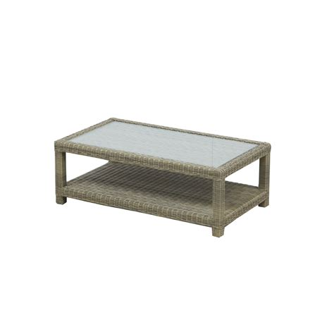 Woven Coffee Table Woven Rectangle Coffee Table The Uk S No 1 Garden Furniture