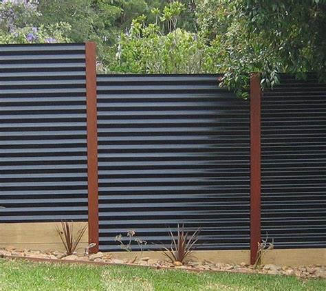 modern fence modern privacy fence ideas for your outdoor space