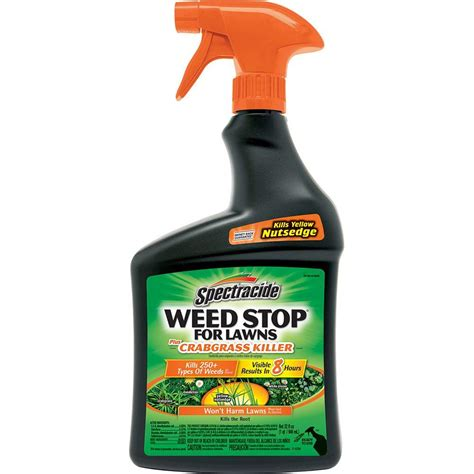 spectracide weed stop 32 oz ready to use plus crabgrass
