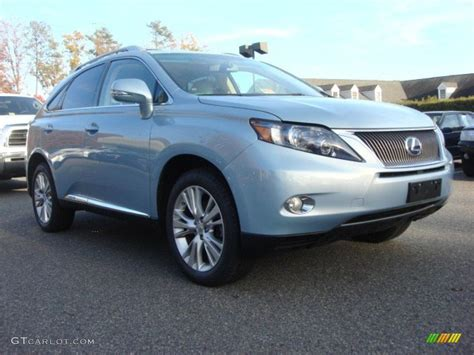 lexus blue color code 2010 cerulean blue metallic lexus rx 450h awd hybrid