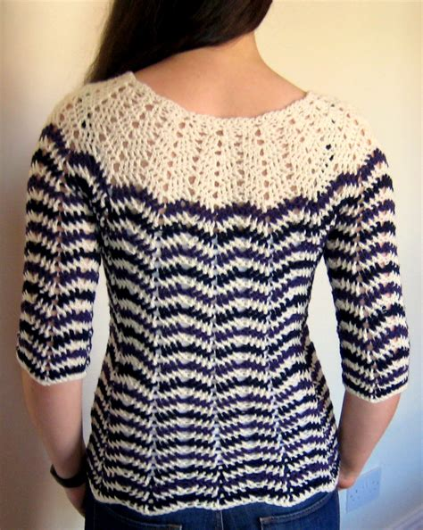 pattern crochet sweater chevron stripes 3 season sweater make my day creative