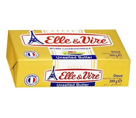 Cheese N Vire And Vire Unsalted Butter 200g