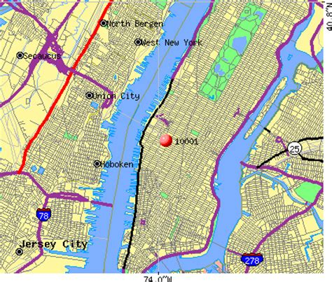 zip code map new york city zip codes manhattan new york map