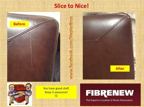 leather or chair seats can be repaired easily with