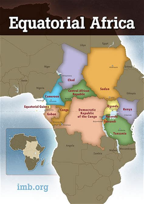 africa map with equator equatorial africa region map flickr photo