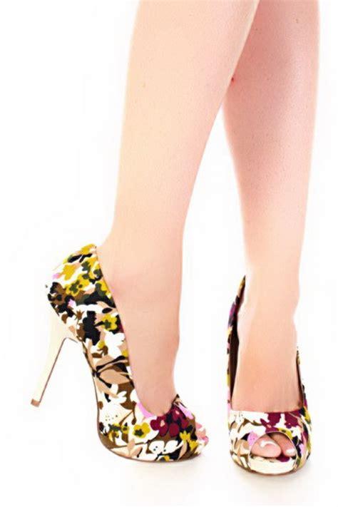 multi colored heels multi colored heels
