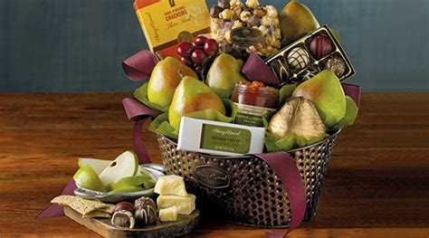 top five gourmet gift baskets from harry david