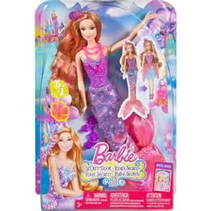 Barbie and the secret door mermaid romy doll walmart com