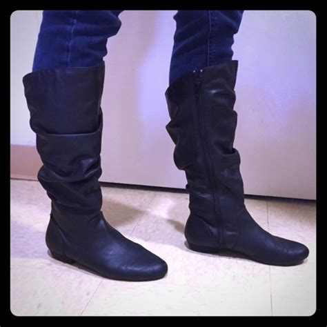 lower east side boots 20 lower east side shoes black slouch boots from