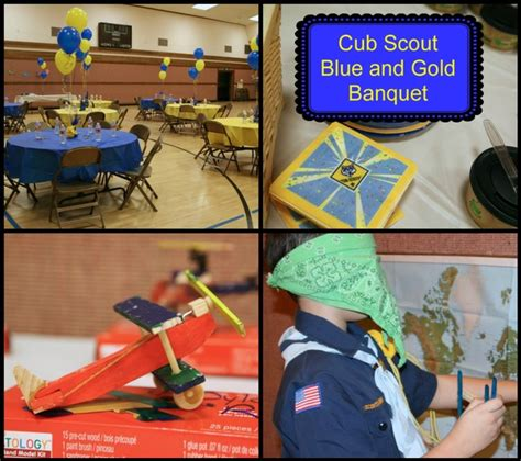 cub scout blue and gold banquet ideas aviator theme