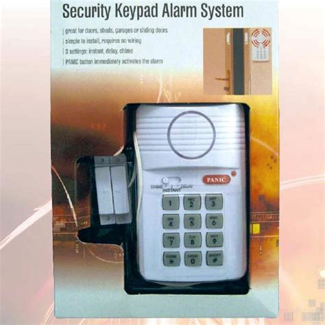 Security System For Garage by Security Keypad Alarm System Door Shed Caravan Garage Ebay