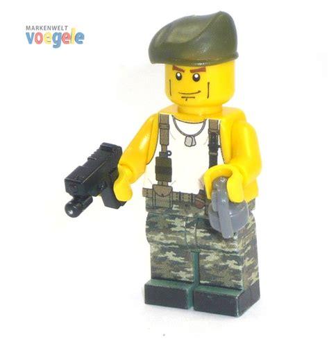 Lego Aufkleber Selbst Drucken by Figur U S Gi Soldat Mit Waffen Aus Lego 174 Teilen Mit
