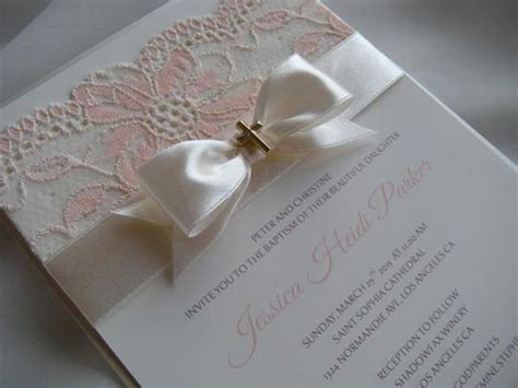 Handmade Communion Invitations - baptism invitation communion invitations birthday