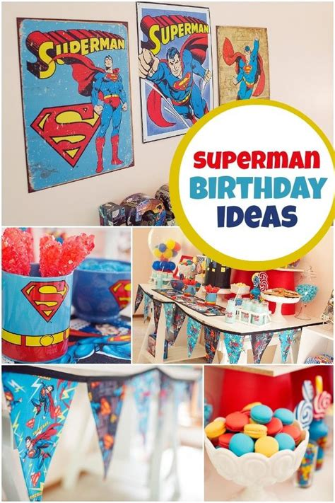 printable superman party decorations superman themed boy s birthday party spaceships and