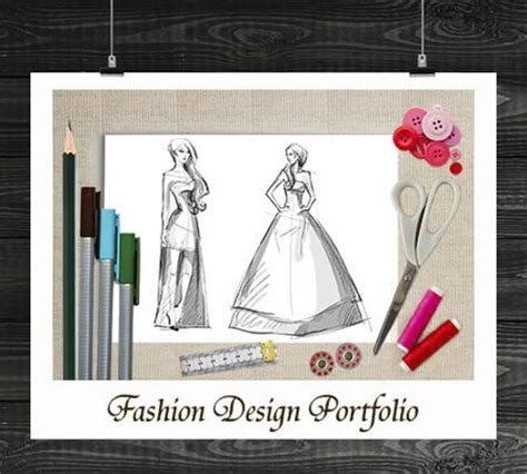 fashion illustration cover page 11 fabulous ideas to make a professional portfolio cover page