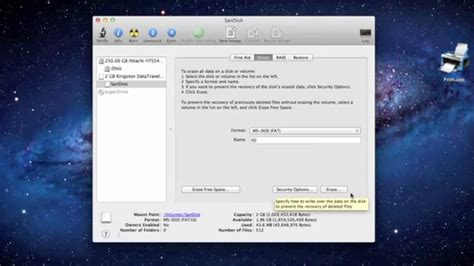 format flash drive on mac could not unmount disk how to format a usb drive on mac youtube