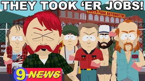 They Took Our Jobs Meme - goobacks official south park studios wiki south park