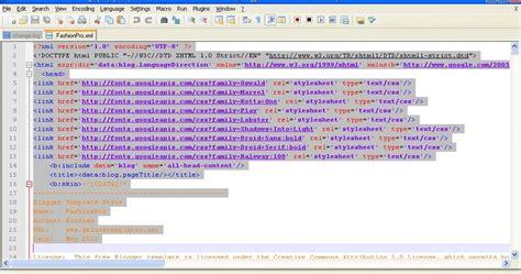 xml template editor cara edit file xml template gue bangetz