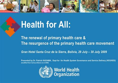 renewal of primary health care