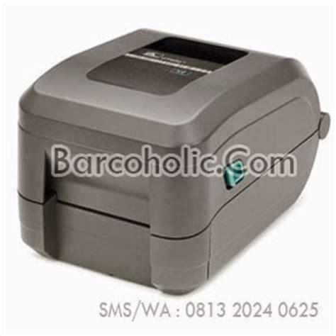 Barcode Printer Zebra Gt 820 Harga Promo jual pita ribbon barcode printer zebra gt820t pita ribbon barcode