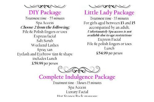 spa package deals uk
