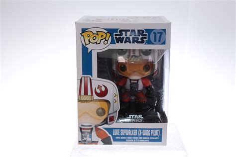 Brown Metals Pop Pilot funko pop 17 luke skywalker wars x wing pilot