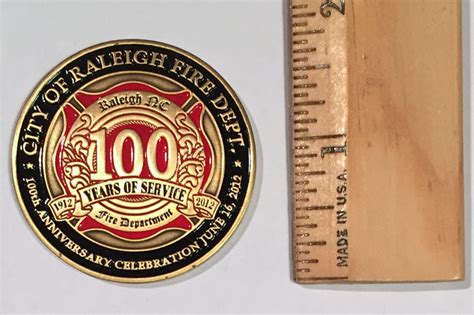 department challenge coins raleigh department history challenge coins