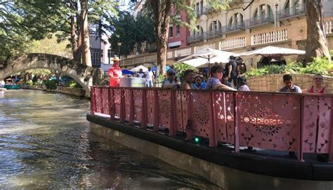 riverwalk boat ride prices a new fleet of river walk barges float into san antonio
