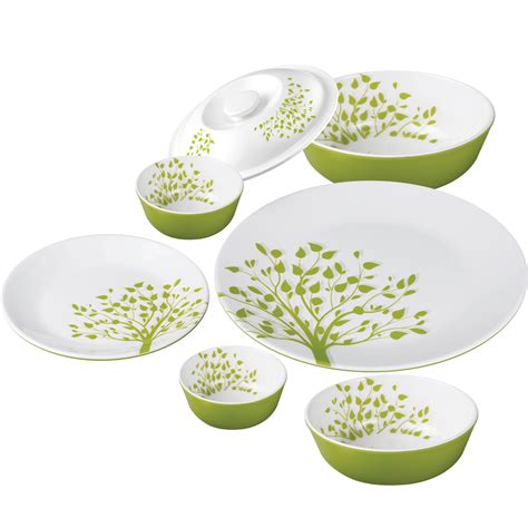 dinner set 21 pc dual dinner set tree of life
