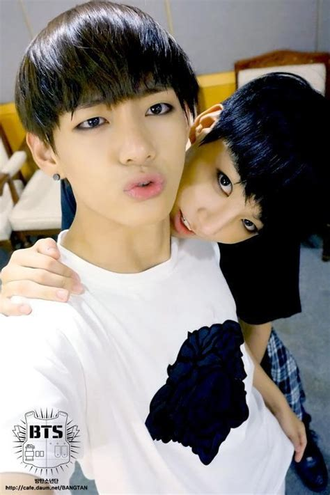 bts fancafe the gallery for gt v jungkook and jimin