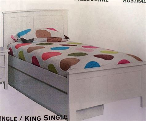 king size trundle bed trundle bed king single white with single trundle