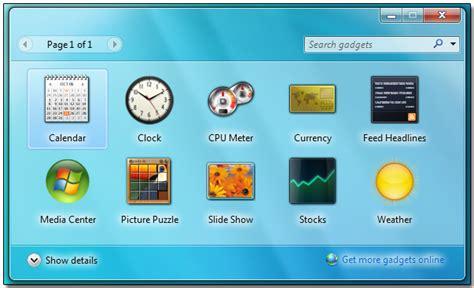 Windows 7 Desktop Gadgets vs. Apple Dashboard   tannerhartley