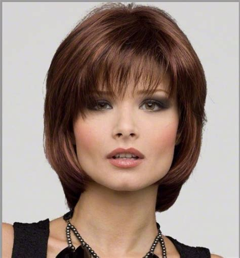 inexpensive wigs for women with round faces wilshire wigs for round faces short hairstyle 2013