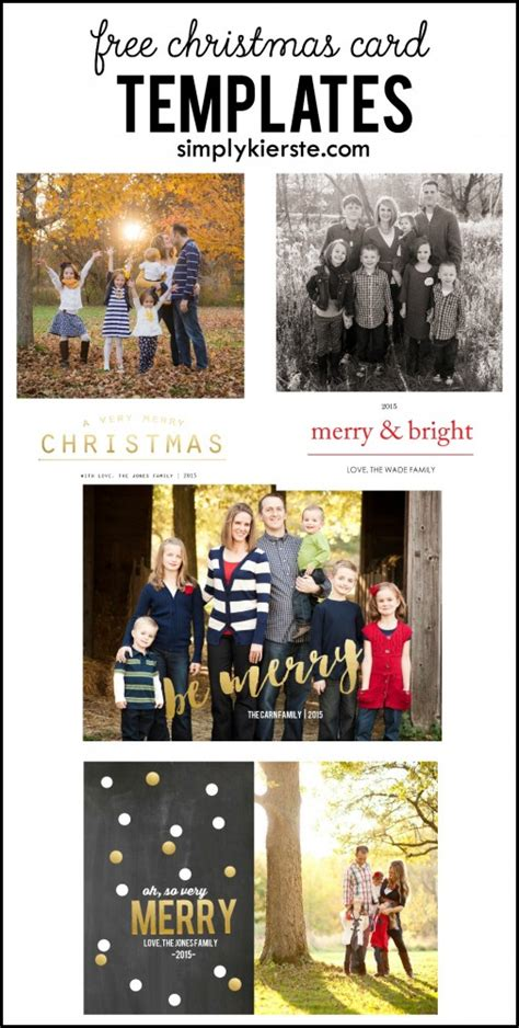 Free Photo Cards Templates Photoshop by Free Card Templates
