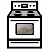 Free Kitchen Stove Clipart, 1 page of Public Domain Clip Art