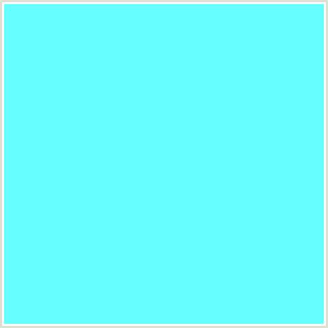 color or colour 66ffff hex color rgb 102 255 255 aquamarine light blue