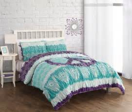 teal and purple bedding turquoise comforter western