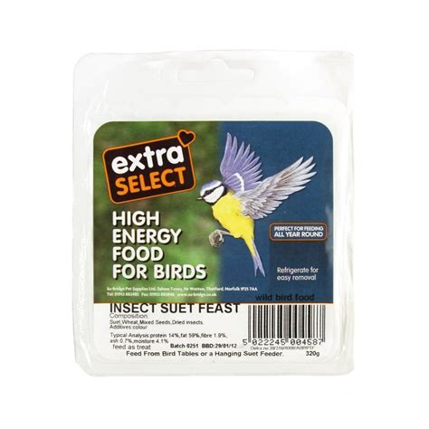 extra select suet block insect buy online at qd stores
