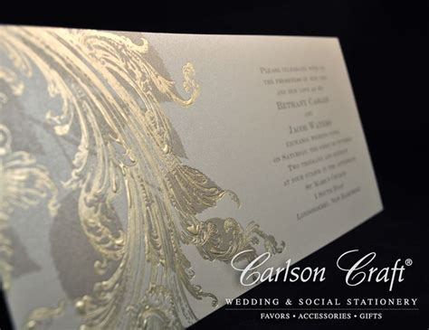 Printed Wedding Invitations Carlson by 67 Best Images About Carlson Craft Wedding Invites On