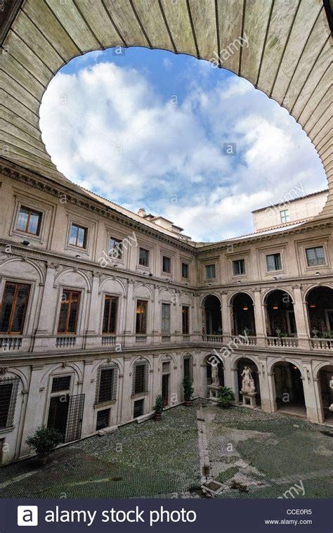 il cortile roma italia roma palazzo altemps cortile stock photos italia