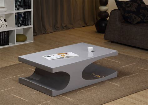 grey modern coffee table modern glossy gray coffee table naples modern coffee